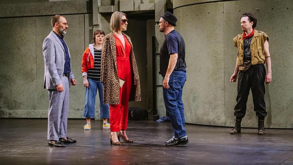 Christian Michaud dans Roméo et Juliette au Trident, 2020