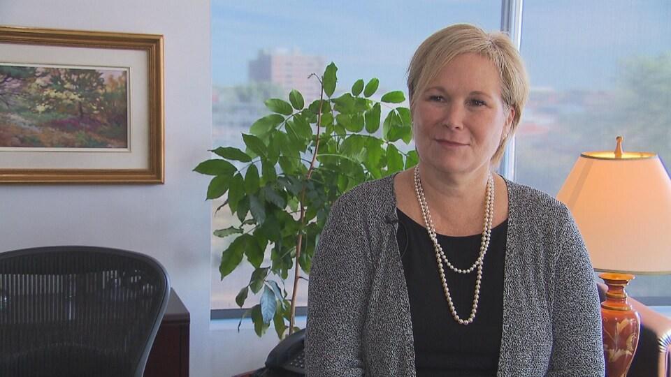 Christine Grou, présidente de l'Ordre des psychologues du Québec.