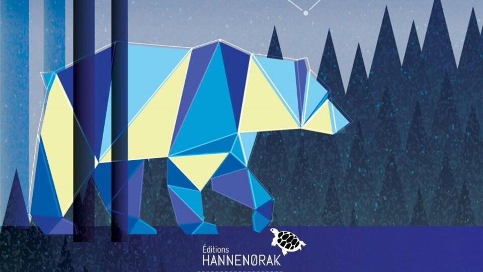 Couverture du livre qui représente un ours.