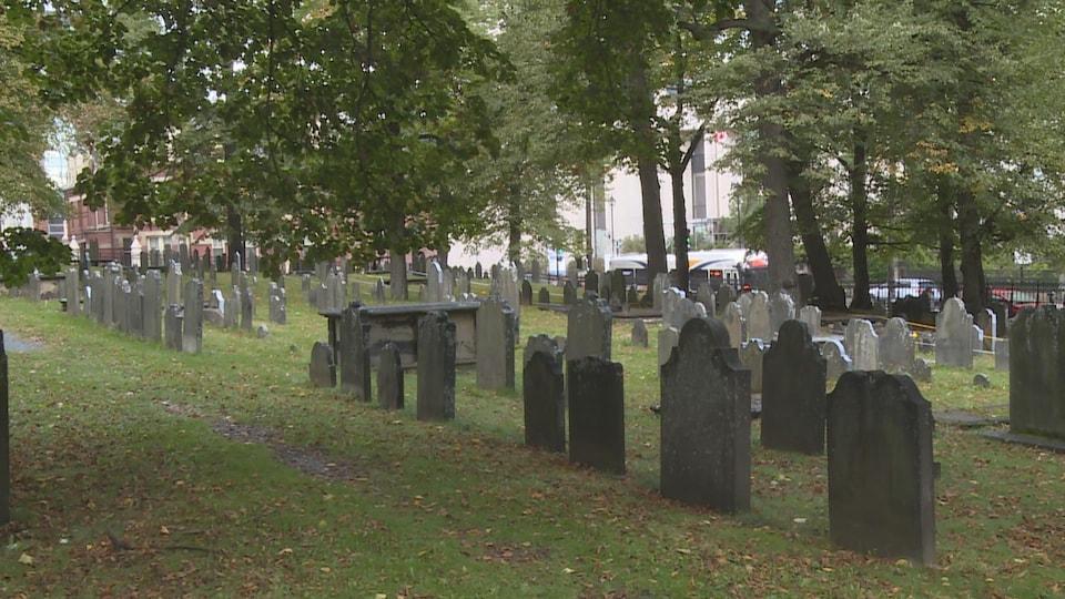 Le cimetière Old Burying Ground est le plus vieux d'Halifax.