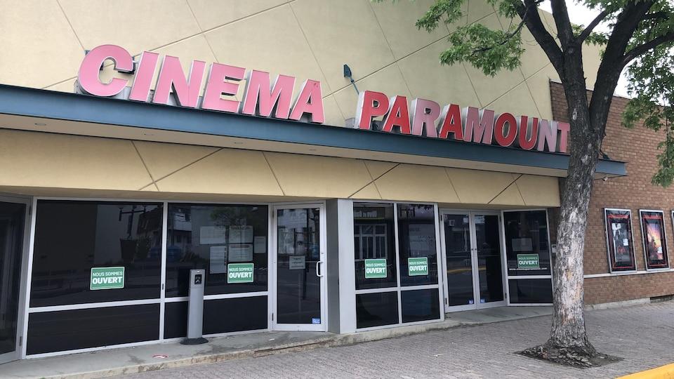 Le cinéma Paramount à Rouyn-Noranda.