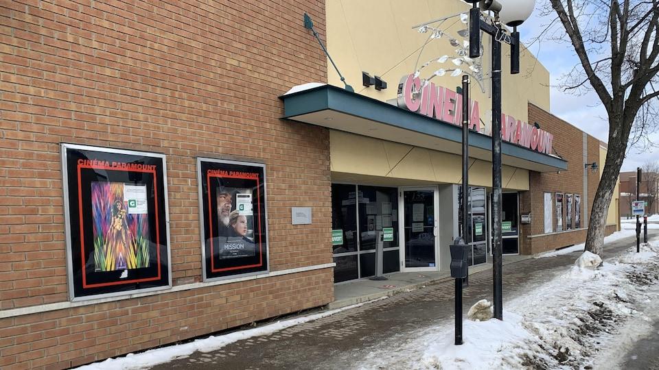 Le cinéma Paramount de Rouyn-Noranda.
