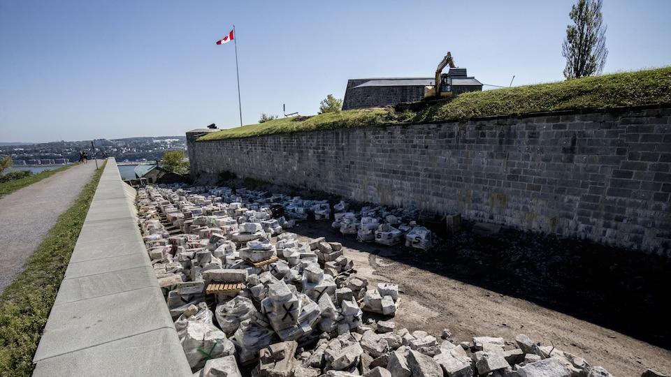 Le Bastion du roi de la Citadelle de Québec.