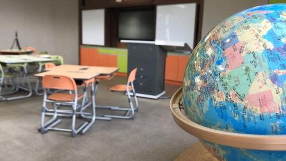 Une classe à Séoul.