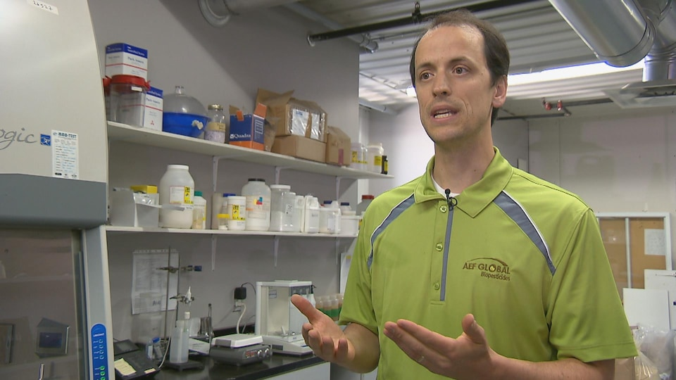 Claude Dubois, agronome chez AEF Global.