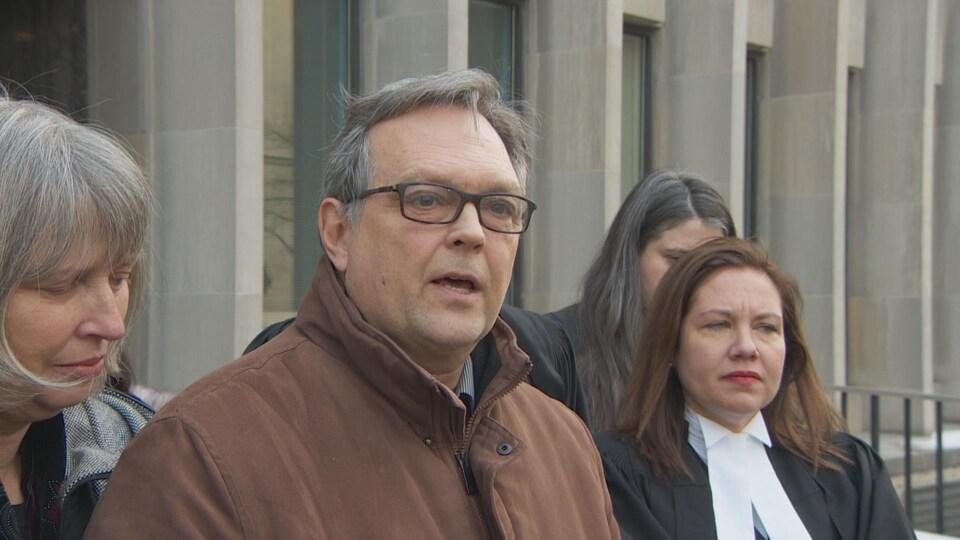 Clayton Babcock, le père de la victime