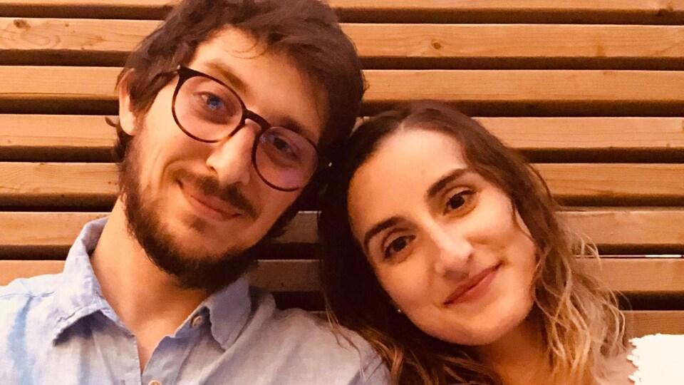 Clément Roy et Angelina Ferreira.