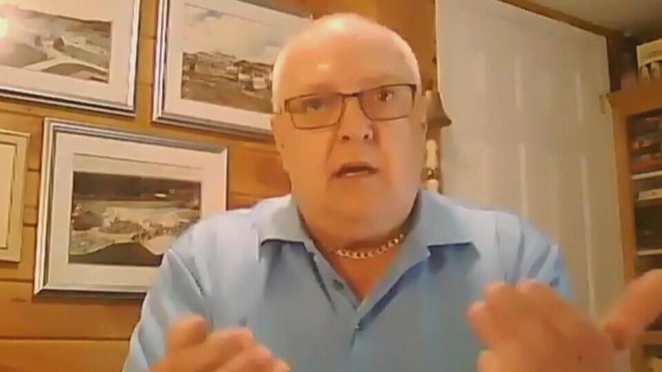 Clifford Kennedy, porte-parole de Pension Coalition N.-B.