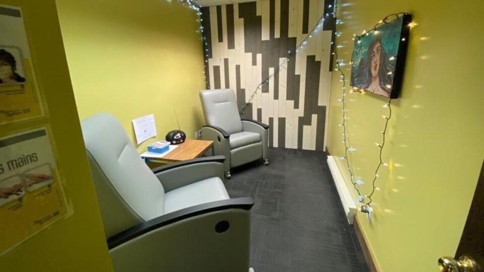 Le Centre de prévention des surdoses de Val-d'Or.