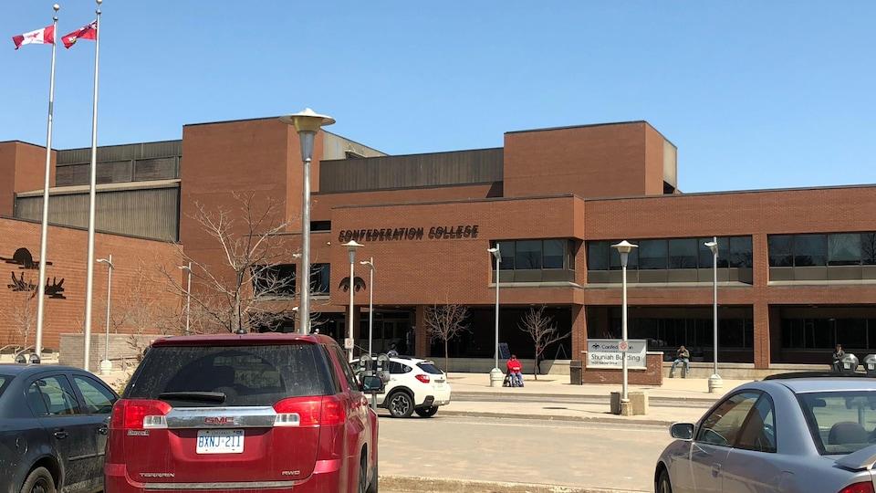 Le Collège Confederation, à Thunder Bay.