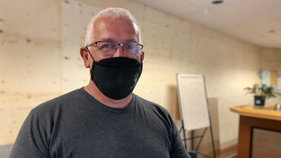 Alan Hicken, superviseur au Community Outreach Centre de Charlottetown.