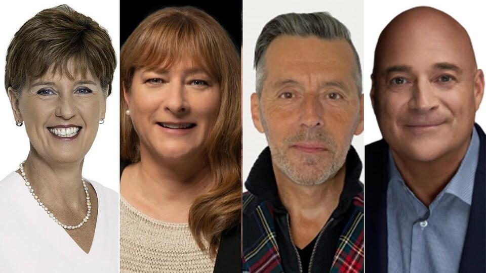 Portrait des candidats à l'élection fédérale de 2021 dans Compton-Stanstead.