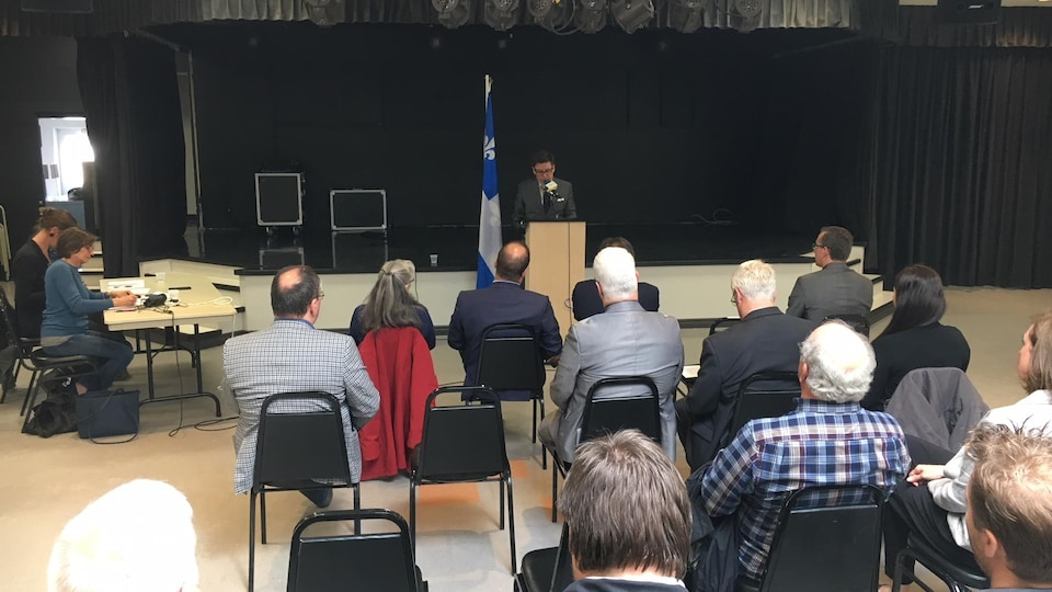 Conférence d'Hydro-Québec aux Îles-de-la-Madeleine