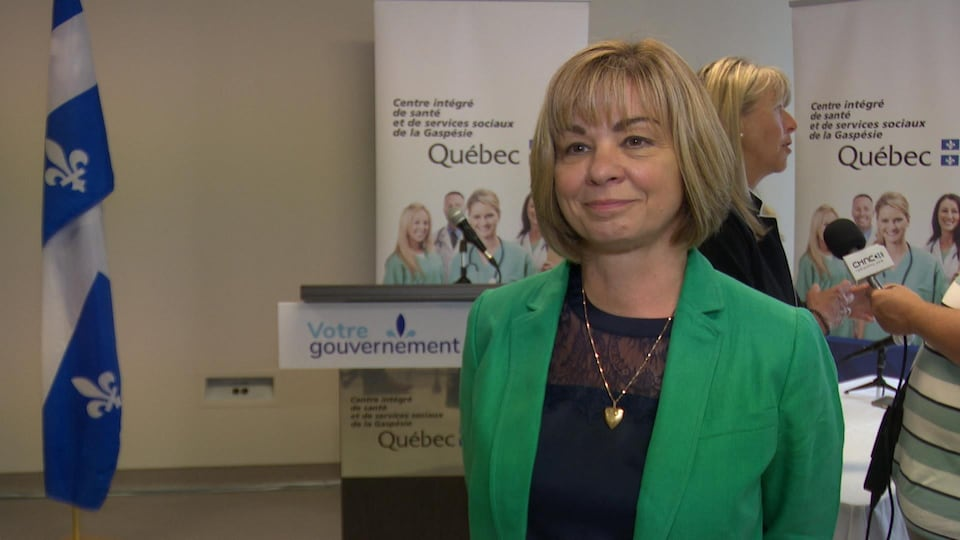La présidente-directrice générale adjointe Connie Jacques