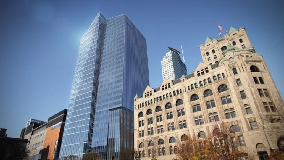 Inaugurée il y a deux ans, la tour Deloitte avait été la première tour à bureaux construite par le secteur privé au centre-ville de Montréal en 20 ans.