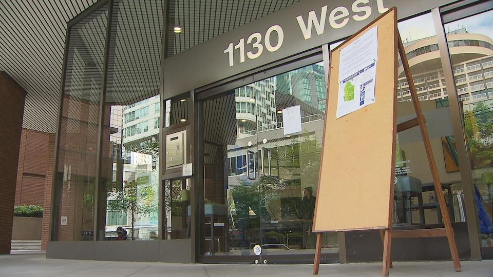 Entrée du consulat général de France à Vancouver