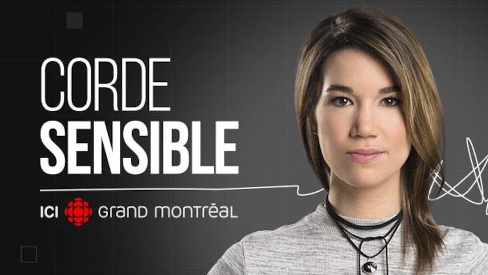 Marie-Eve Tremblay, animatrice de la série Corde sensible