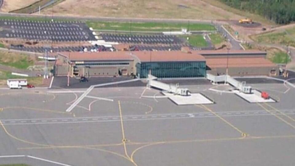 Aéroport de Moncton.