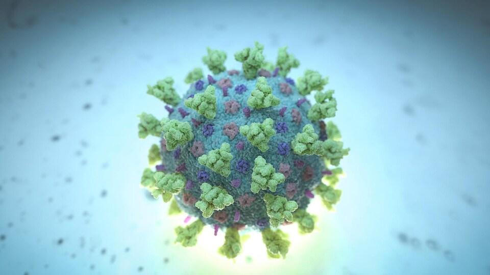 Image d'une molécule