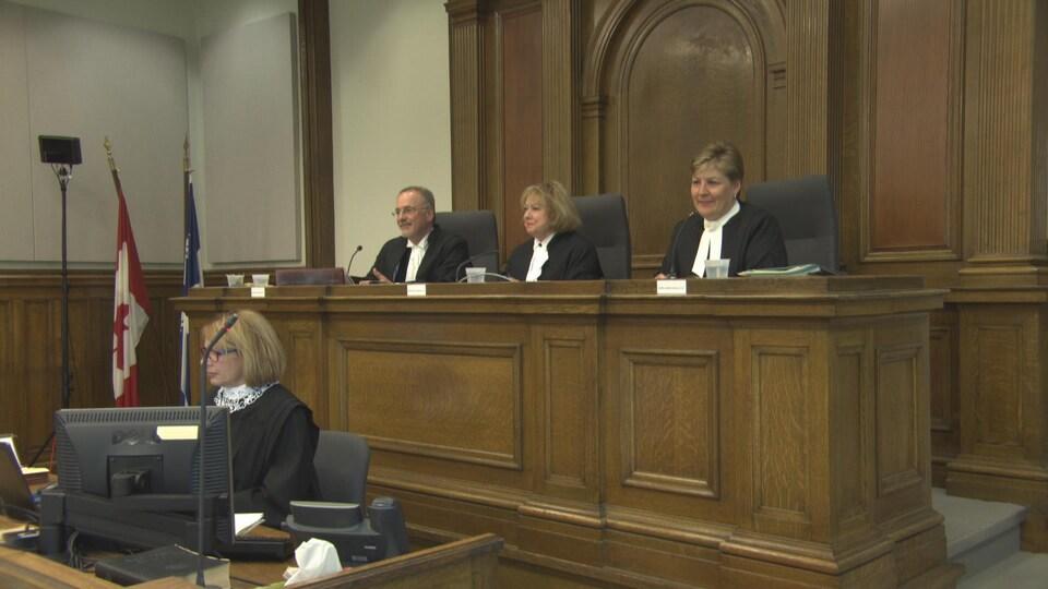 Juge au palais de justice de Trois-Rivières