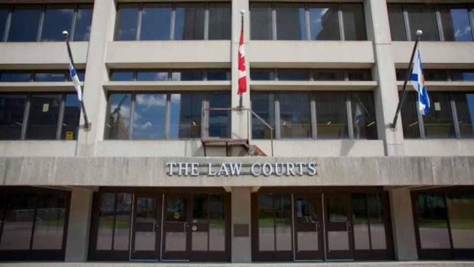 L'édifice de la Cour suprême de la Nouvelle-Écosse.