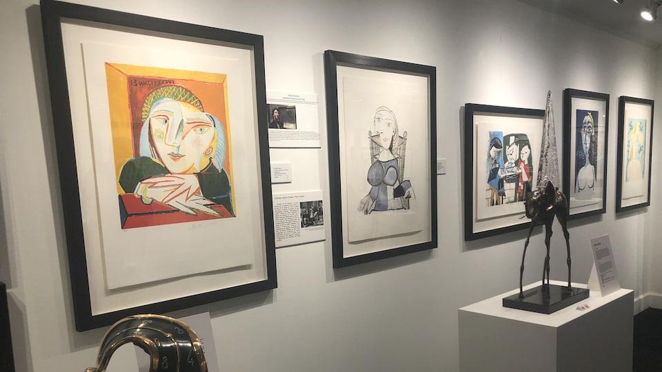 Des oeuvres de Picasso issues de la collection Marina Picasso.