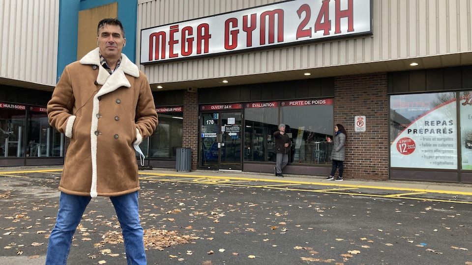 Le propriétaire du Mega Fitness Gym et instigateur de la coalition, Dan Marino.