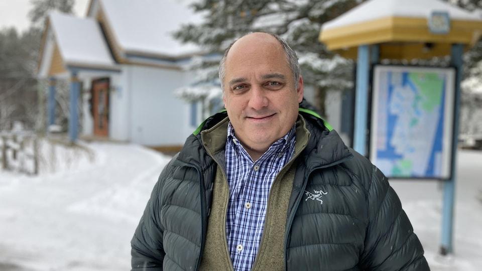 Daniel Blier, directeur général de Tourisme Mont-Tremblant