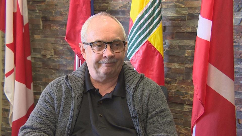 Daniel Boucher, directeur général de la Société de la francophonie manitobaine.