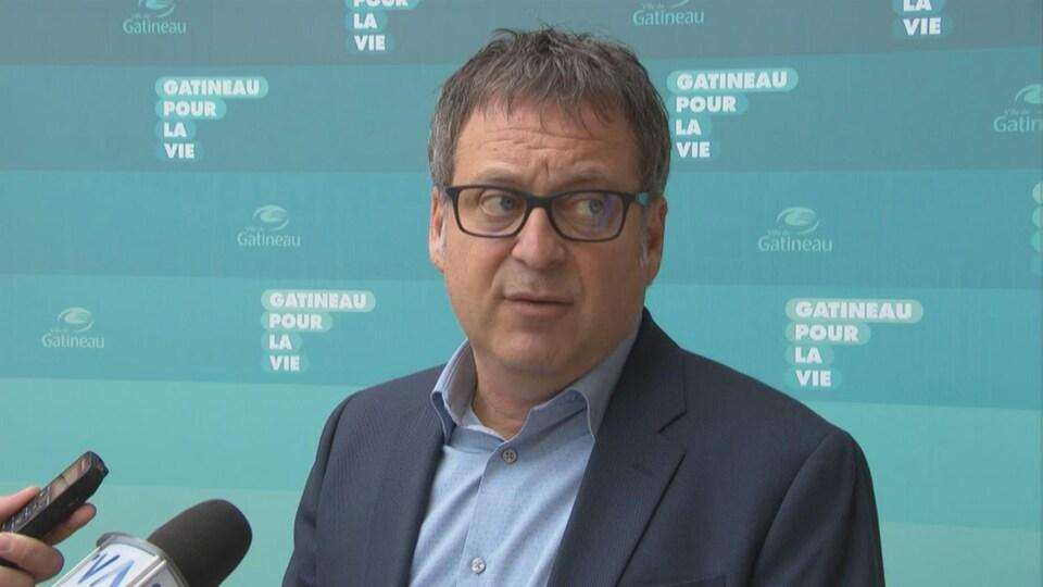 Daniel Champagne, président du conseil municipal de Gatineau.