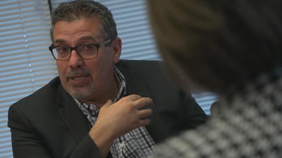 Daniel Paré, président-directeur général du Centre intégré de santé et de services sociaux (CISSS) de Chaudière-Appalaches.