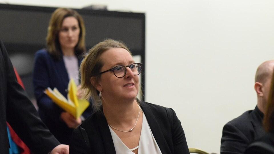 Darcie Robichaud, présidente du collège Oulton de Moncton.
