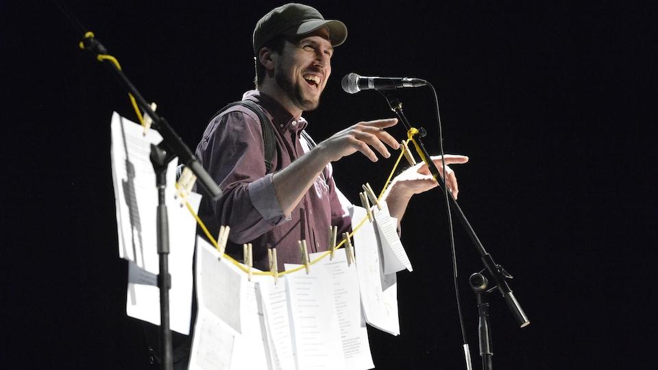David Goudreault en spectacle