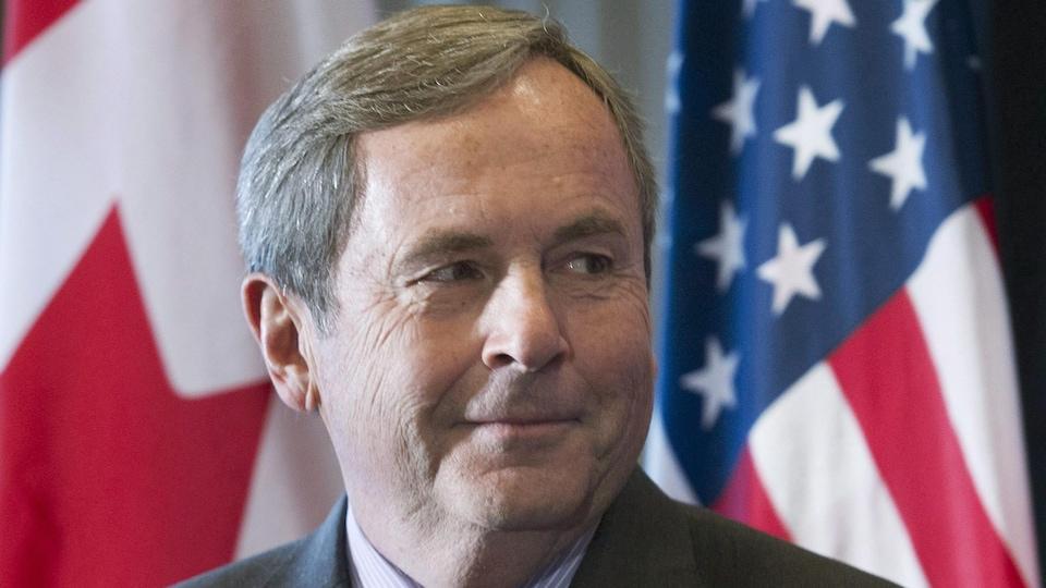 L'ambassadeur canadien aux États-Unis, David MacNaughton.