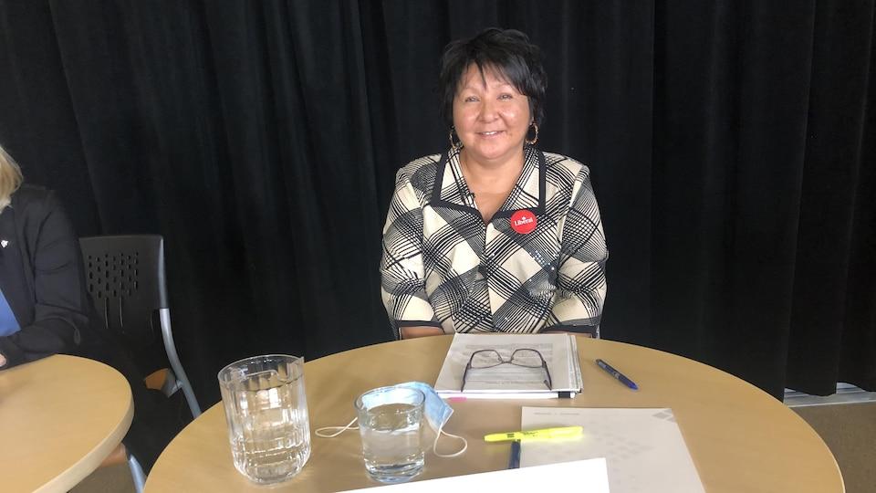 Lise Kistabish, candidate du Parti libéral du Canada dans Abitibi–Baie-James–Nunavik–Eeyou.