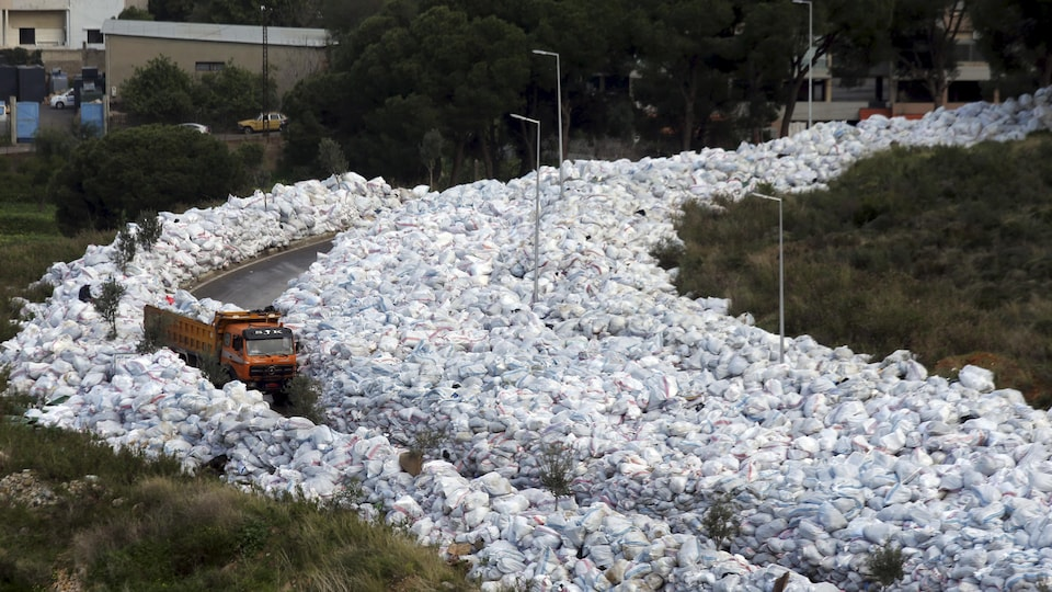 La capitale libanaise vit une crise des déchets depuis plusieurs années
