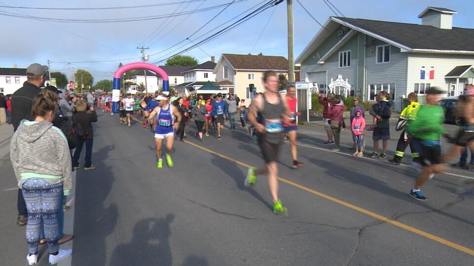 demi-marathon de Saint-François-de-Madawaska