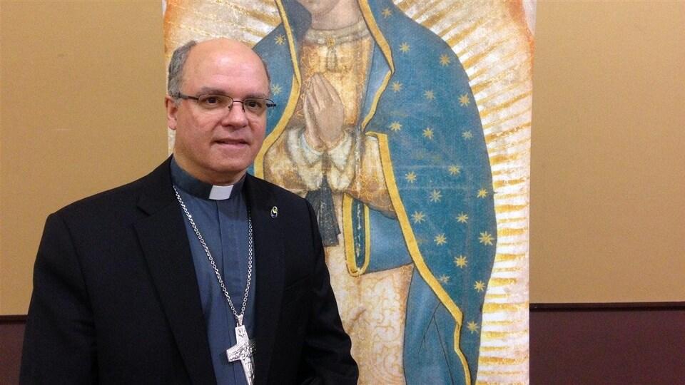 L'archevêque de Rimouski, Denis Grondin