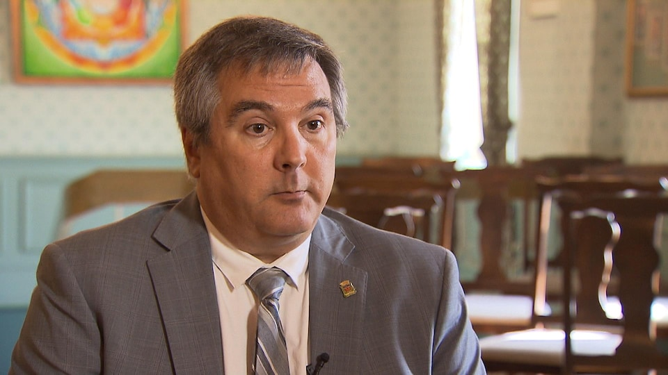 Le conseiller sortant Jean Roy