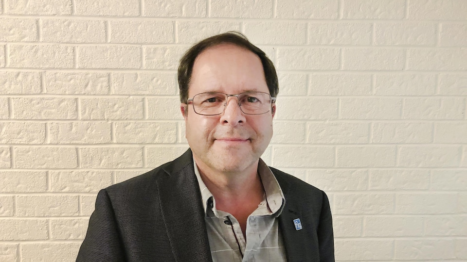Denis Provencher du Syndicat des professionnelles en soins des Laurentides.