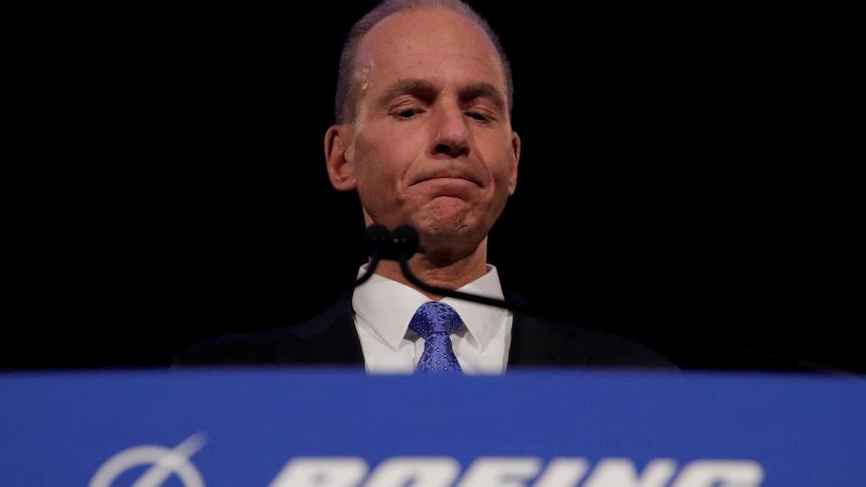 Dennis Muilenburg, PDG de Boeing.