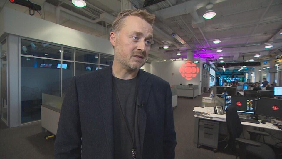 Derek Martin, promoteur d'événements sportifs à Halifax