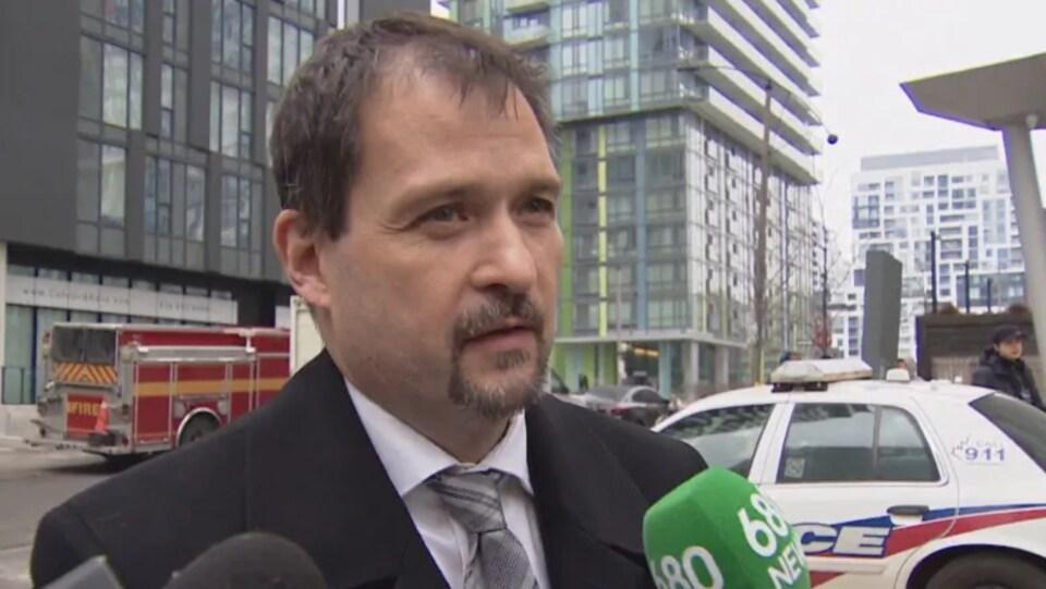 Le détective Henri Masman de la police de Toronto