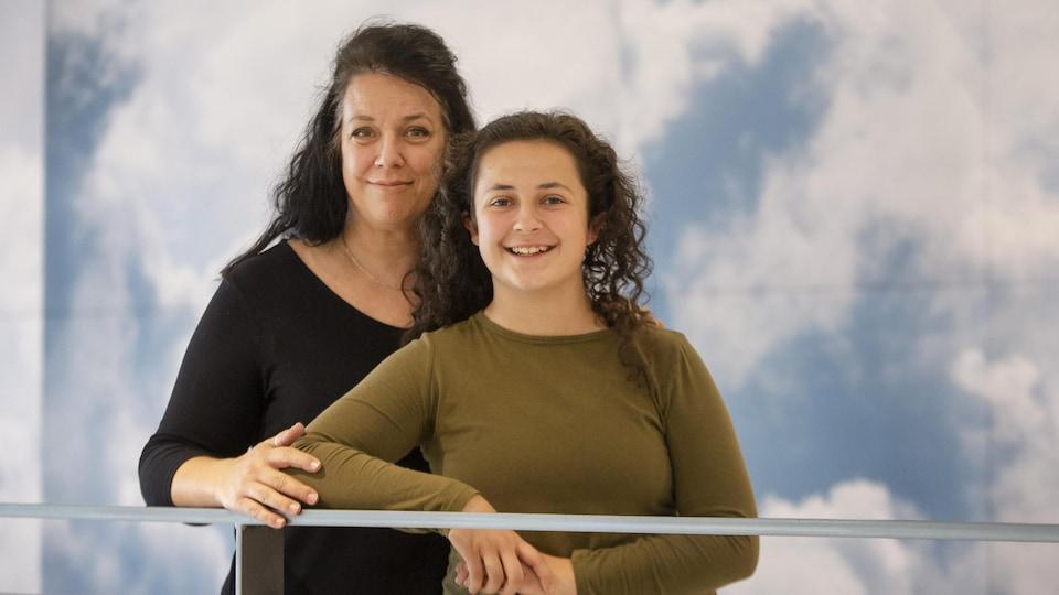 Josée Dufresne et sa fille, Sophie Roy, atteinte de diabète de type 1.