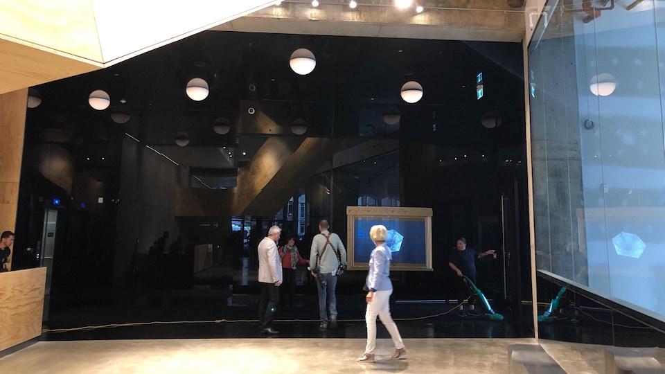 L'entrée du Diamant, la nouvelle salle de diffusion de Robert Lepage à Québec.