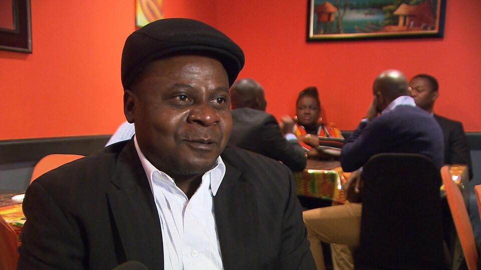 Diamvu Atakana, un Congolais installé à Montréal depuis 2017.