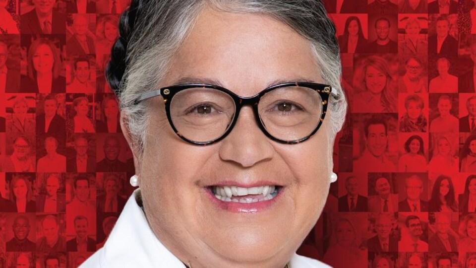 Photo officielle de campagne de Mme Lebouthillier.