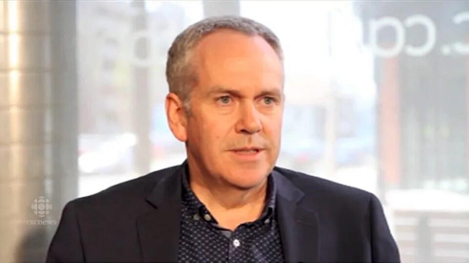 Chris Murray en entrevue.