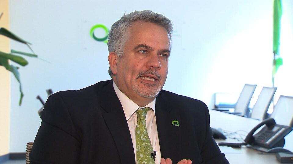 Le directeur général de Transplant Québec, Louis Beaulieu
