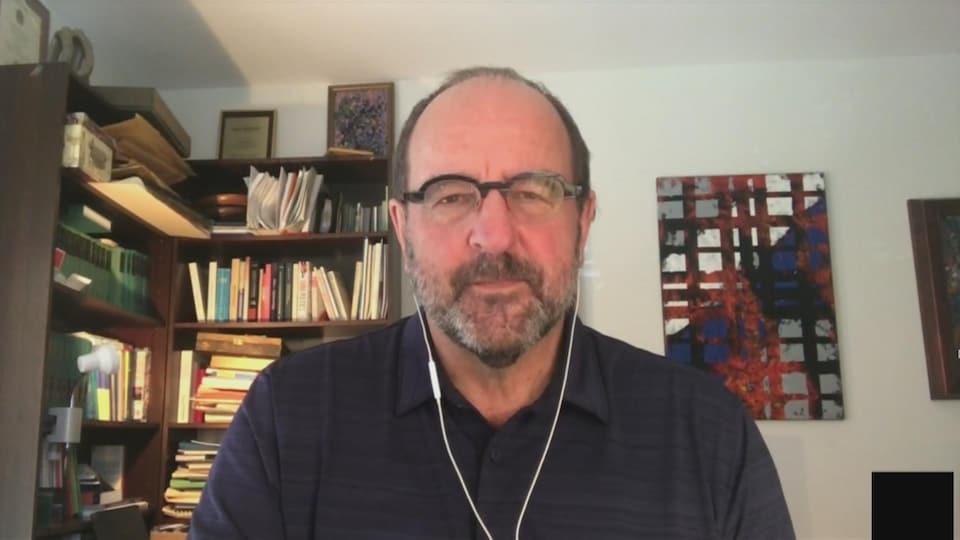 Dr. Alain Fourier via video conference.